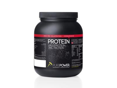 PurePower Proteinpulver - Valleproteindrik - Jordbær 1 kg