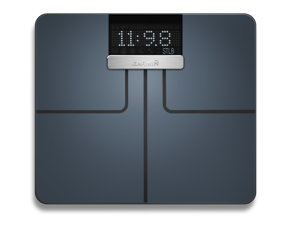 Image of   Garmin Index Smart Scale - Vægt der bl.a måler kropsfedt, vand og BMI - Sort