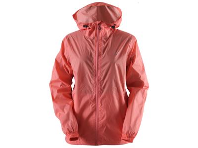 2117 Of Sweden Vedum Rain Jacket Women - Regnjakke Til Dame - Koral