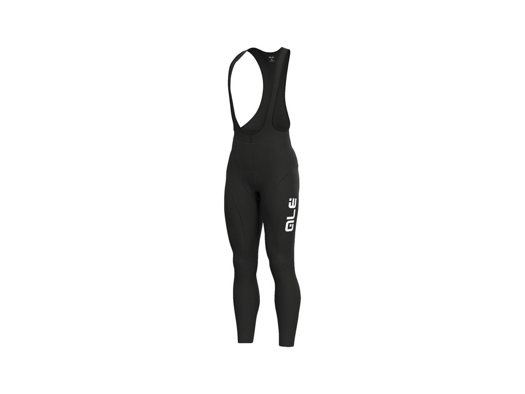Image of   Alé Solid - Bibtights med seler - Sort - Str. 3XL