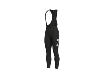 Alé Solid - Bibtights med seler - Sort