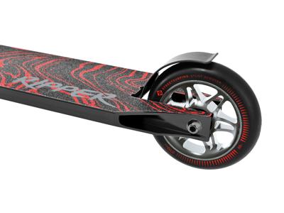 Streetsurfing Ripper - Trikse sparkesykkel med 100mm hjul for barn - Bloody Black