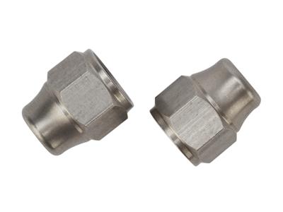 Atredo - Hydraulisk kabelende - Rustfritt stål - For Shimano / Formula - 2 stk.