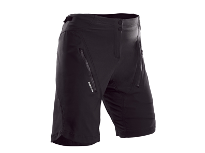 Sugoi Evo X loose fit cykelshorts - Dame - Sort - Str. XL