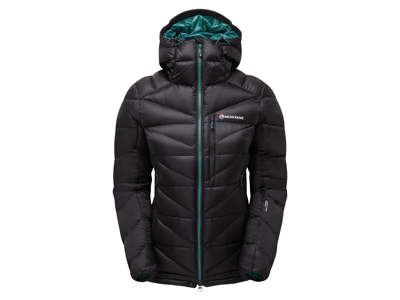 Montane Womens Anti-Freeze Jacket - Dunjakke - Dame - Sort - Str. 42