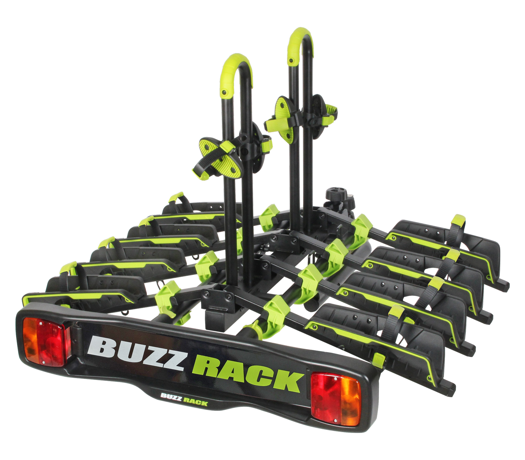 Buzzrack Buzzwing 4 - Cykelholder til 4 cykler - Sammenklappelig | Car racks