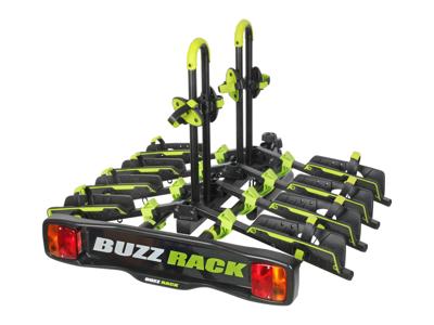 Buzzrack Buzzwing 4 - Cykelholder til 4 cykler - Sammenklappelig