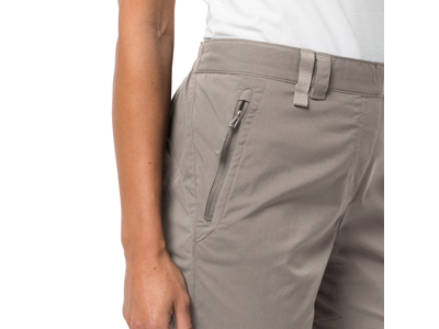 Jack Wolfskin Activate Light - 3/4 Shorts - Dame - Moon rock