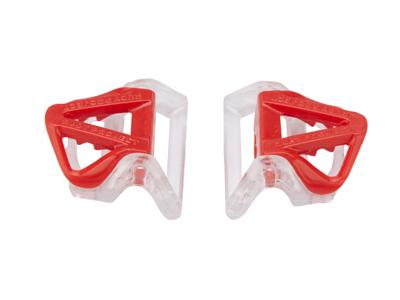 Rudy Project - Spændesæt til strop - Til Sterling cykelhjelm - Rød