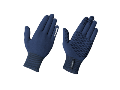 GripGrab Primavera Merino Glove II - Overgangscykelhandske - Navy blå
