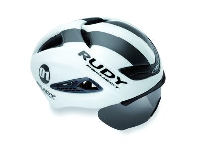 Rudy Project Boost Pro - Cykelhjelm - Mat Hvid/Grå