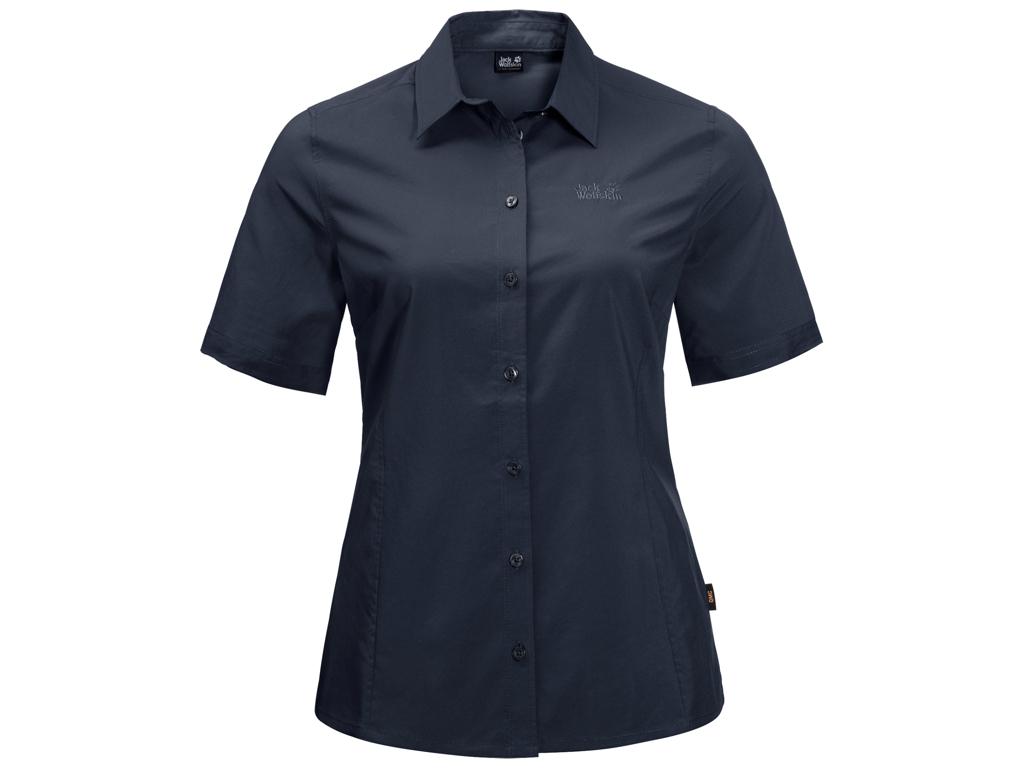 Jack Wolfskin Sonora Skjorte - Dame Str. XL - Midnight blue thumbnail
