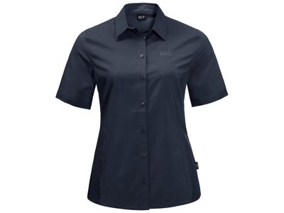 Jack Wolfskin Sonora Skjorte - Dame - Mørkeblå