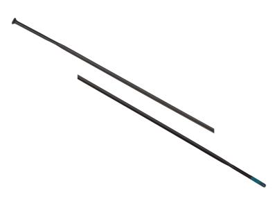 Shimano Eger - Til WH-9000 C24 300mm lange - sort