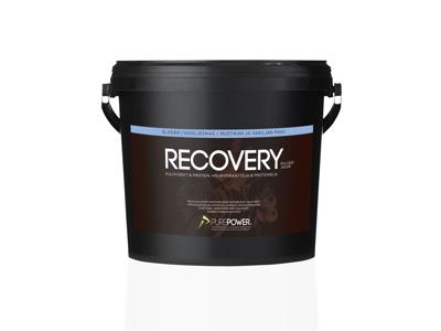 PurePower Recovery - Restitutionsdrik - Vanilje / blåbær - 3 kg