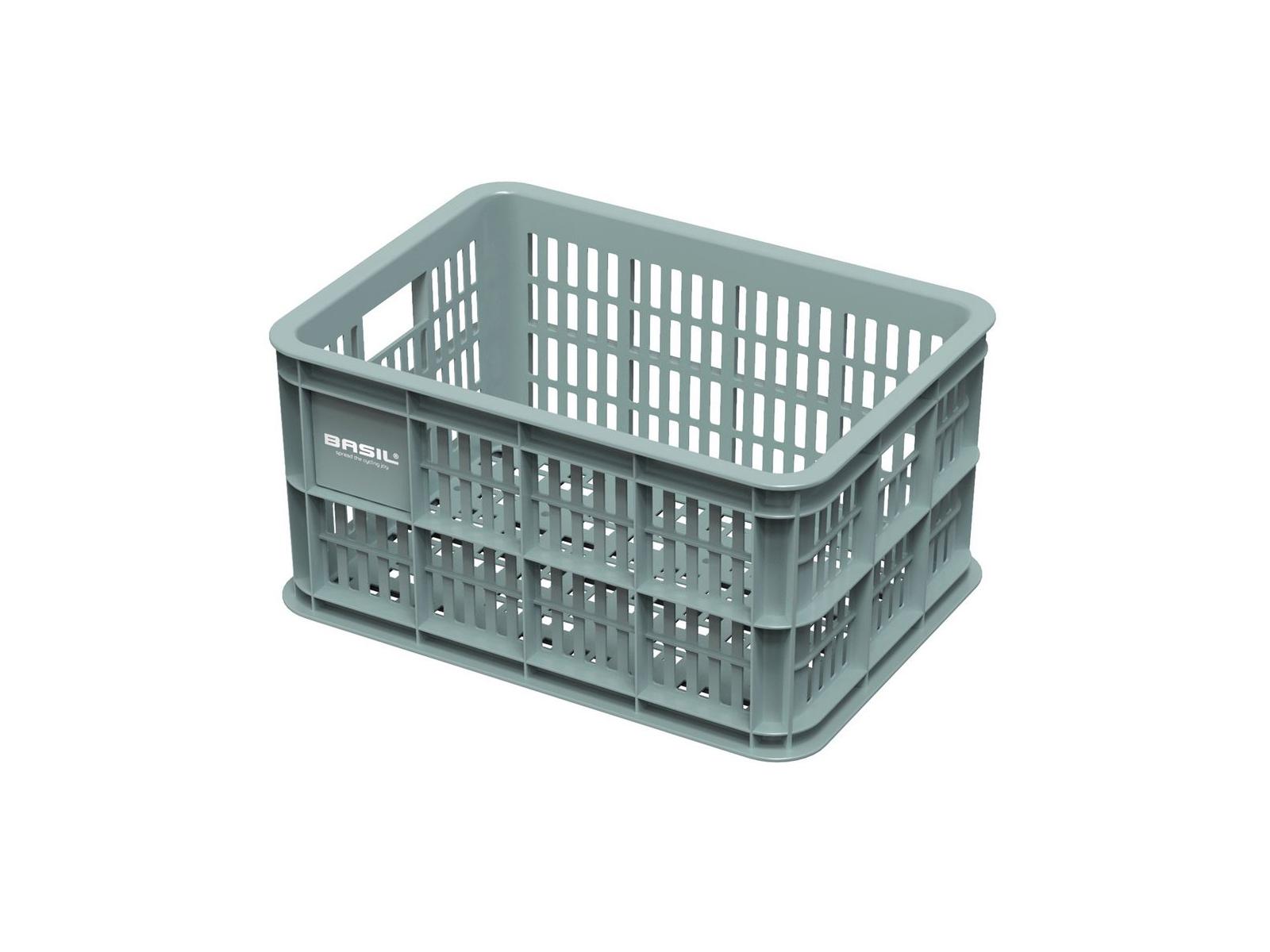 Picture of: Basil Crate S Plast Kurv Til Opbevaring Eller Bagagebaerer Seagrass Dkk 84 13