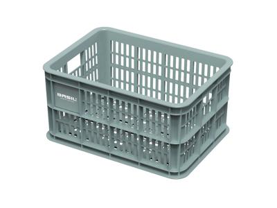 Basil Crate S - Plastkorg - Till förvaring eller pakethållare - Seagrass