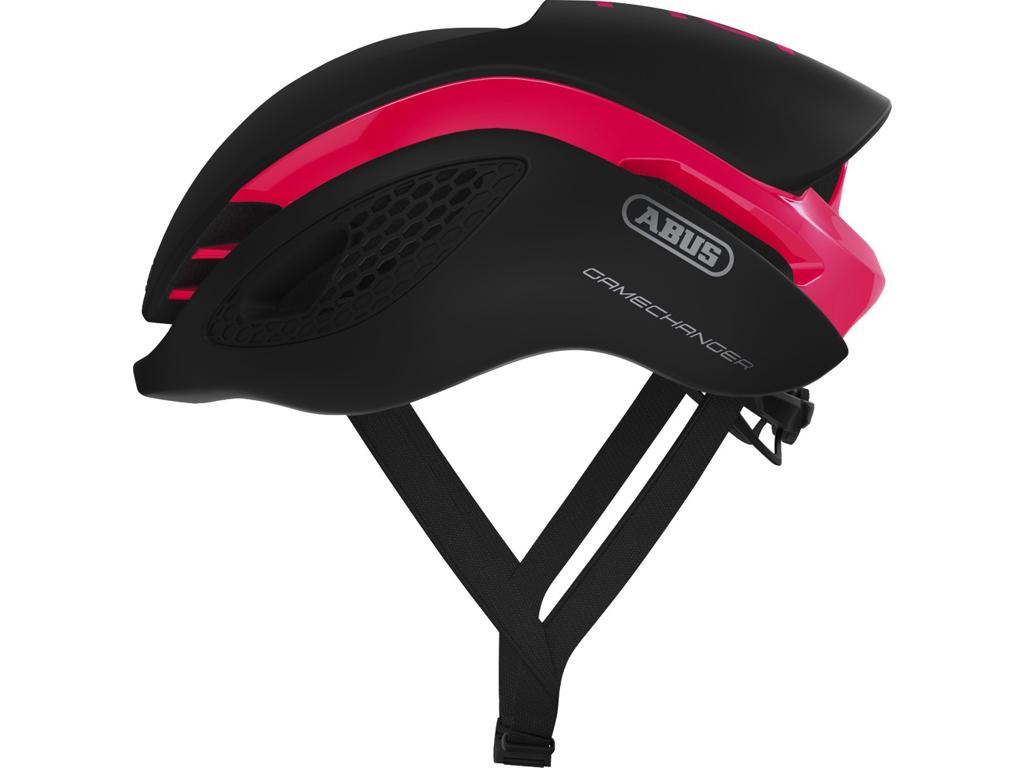 Image of   Abus GameChanger - Aero cykelhjelm - Fuchsia pink - Str. L