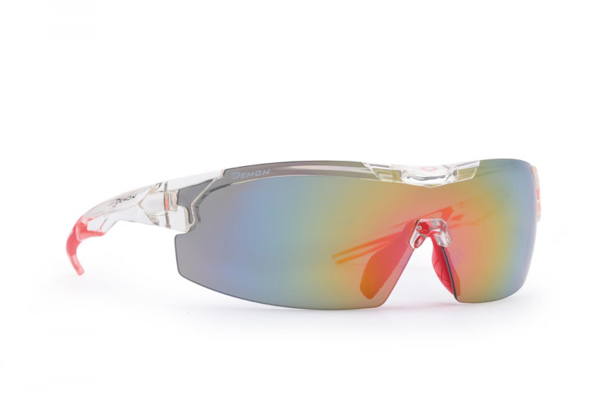 Demon Visual DCHANGE - Løbe- og cykelbrille med 3 sæt linser - Transperant   Glasses