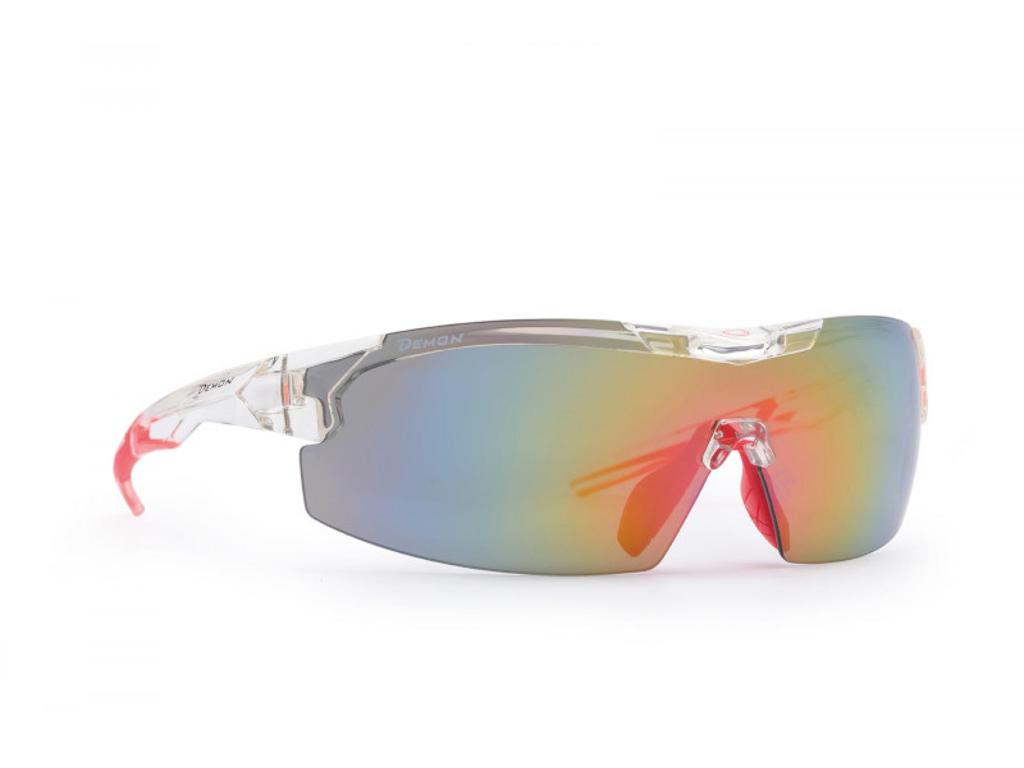 Image of   Demon Visual DCHANGE - Løbe- og cykelbrille med 3 sæt linser - Transperant