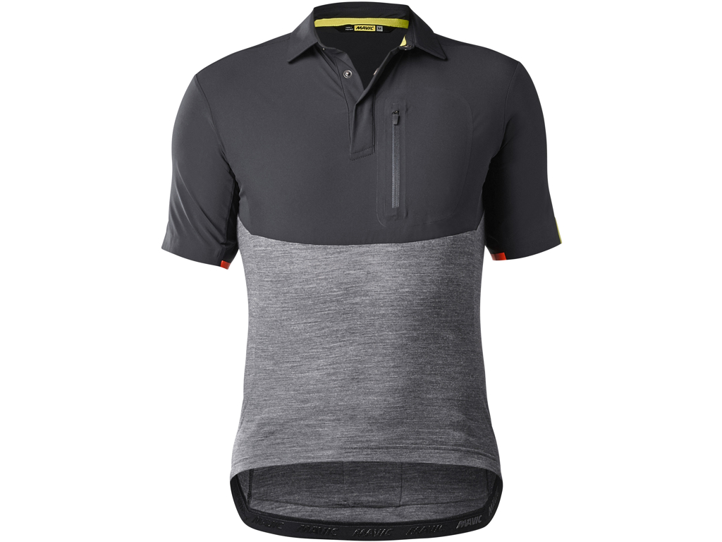 Image of   Mavic Allroad Jersey - Cykeltrøje - Sort/grå - Str. 2XL