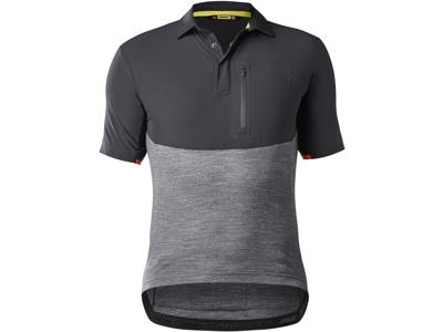 Mavic Allroad Jersey - Cykeltrøje - Sort/grå - Str. 2XL