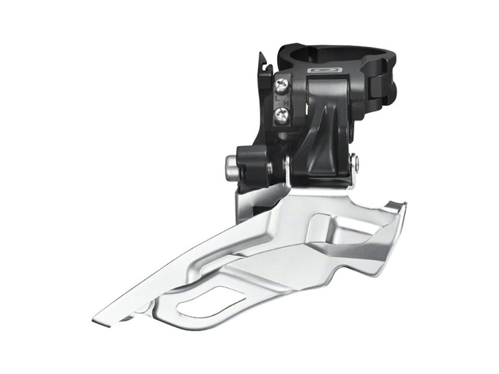 Image of   Forskifter Shimano Deore 3 x 10 gear til sadelrørs montering - Sølv