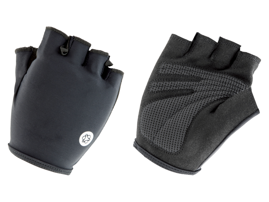 AGU Gloves Essential Gel - Cykelhandsker med gel-puder - Sort