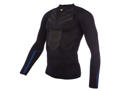 Diadora løbe t-shirt - Herre - Win LS Seamless - Saltire Navy