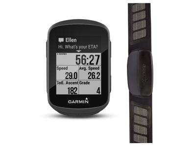Garmin Edge 130 HR bundle - GPS Cykelcomputer inkl. pulsbælte