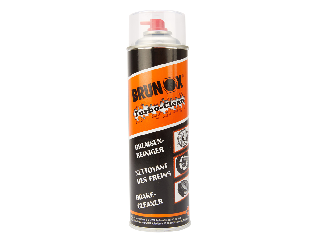 Image of   Brunox - Turbo clean - Brake cleaner - Bremserens- 500 ml