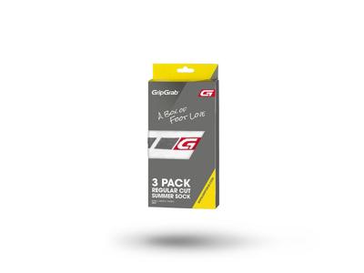 GripGrab Regular cut strømper 3 pak - Hvid