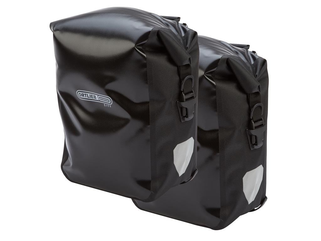 Ortlieb - Sport-Roller City cykeltasker - 2 x 12,5 liter - Sort
