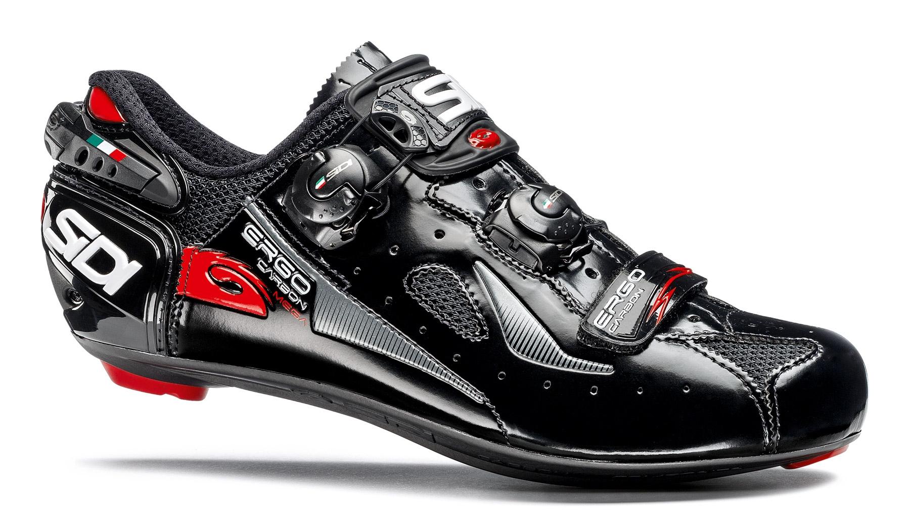 Sidi Ergo 4 Mega Carbon - Cykelsko - Sort   Shoes and overlays