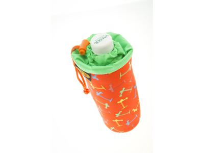 Micro - Pose med snørre til drikkedunk - Multicolor