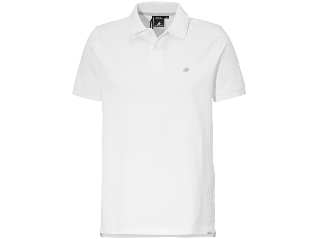 Image of   Didriksons William Mens Piké - Poloshirt - Hvid - Str. L