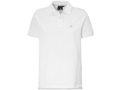 Didriksons William Mens Piké - Poloshirt - Hvid