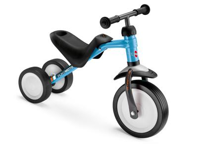 Puky Pukymoto - Løbecykel fra  1 1/2 år/85 cm - Blå/grå