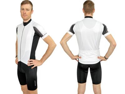 XTreme X-Rapid - Cykeltrøje med korte ærmer - Hvid
