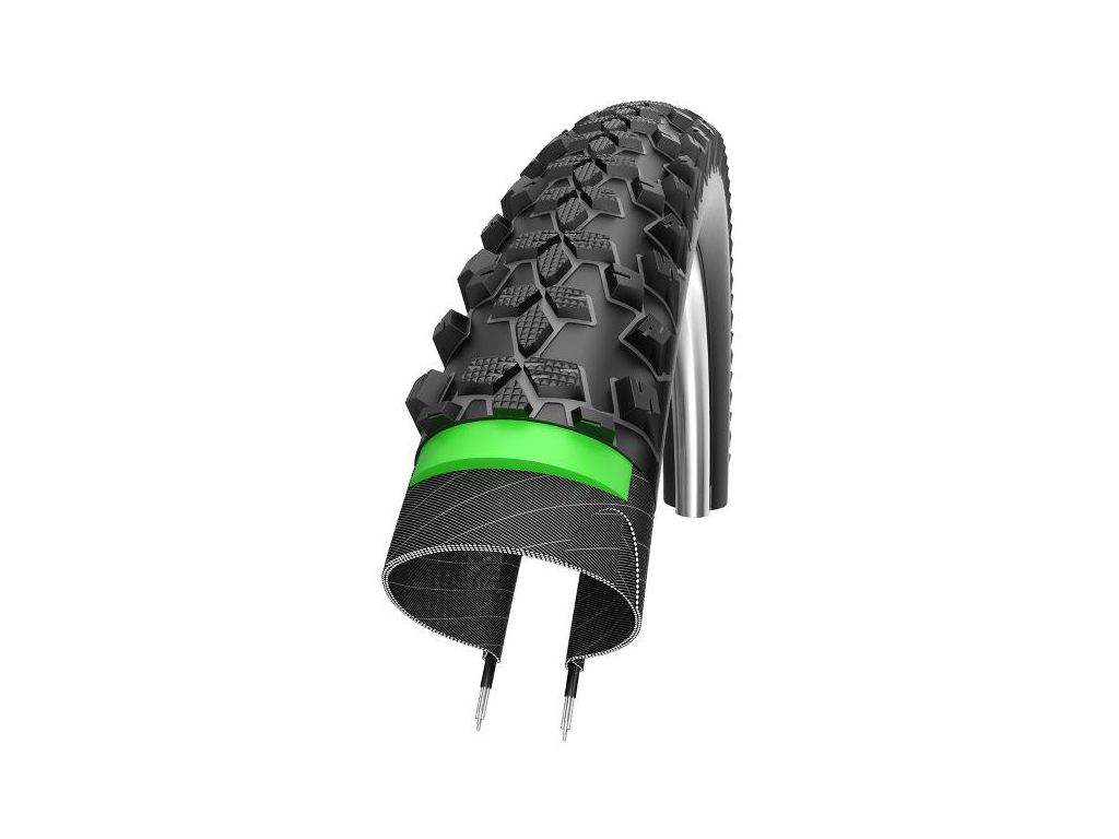 Schwalbe Smart Sam Plus Addix GreenGuard Tråddæk - 29x2,25
