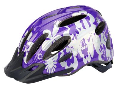 Xtreme - X-City - Cykelhjelm - Str. 55-60 cm - Lilla/Sølv