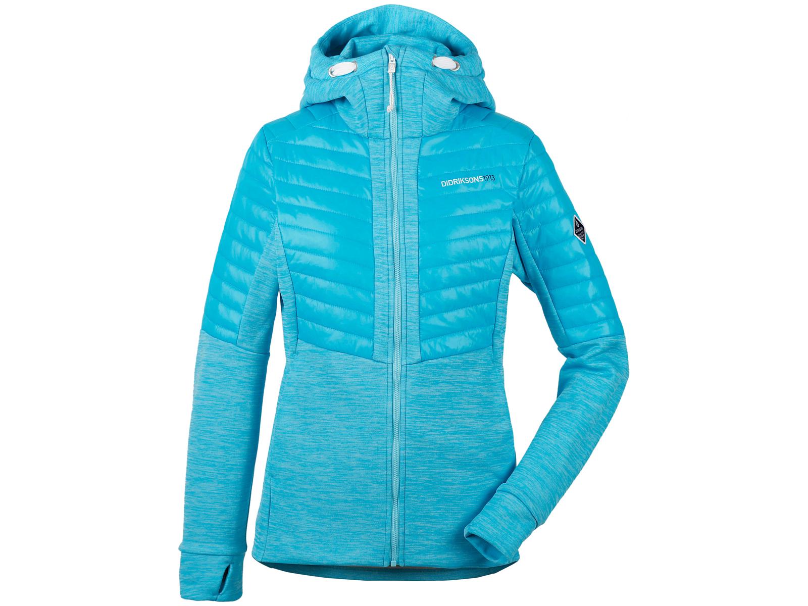 Didriksons Annema Womens Jacket Softshelljakke Dame Turkis (DKK 400,00)