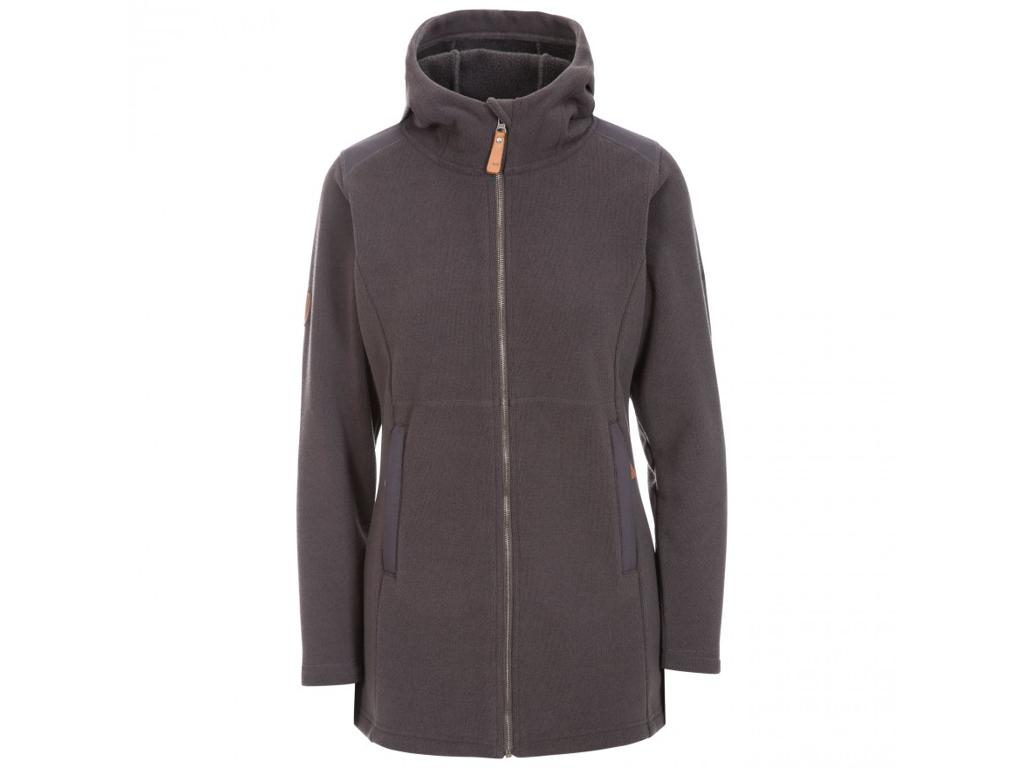 Trespass Citizen - Fleece jakke dame - Str. M - Charcoal marl thumbnail