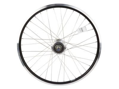 """Ryde 26"""" baghjul - Andra 10 fælg - 19-559 - Shimano Nexus 7 gear - Rullebremse - Sort/sølv"""