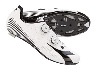 Diadora - Cykelsko Vortex Pro II Hr. - Str. 45 - Hvid/Sort
