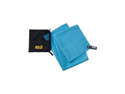 Jack Wolfskin Great Barrier - Håndklæde M - 80x40cm - Turquoise