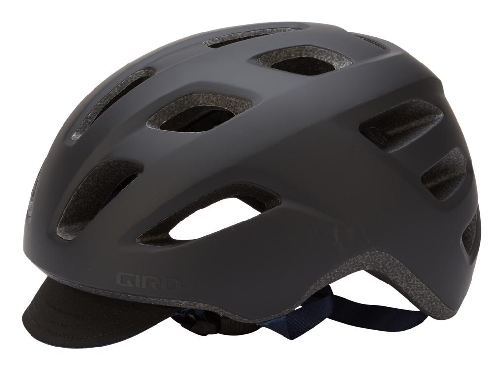 Giro Crossley - Cykelhjelm - Str. 58-65 cm - Mat Sort/Mørk Blå thumbnail