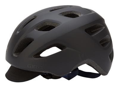 Giro Crossley - Cykelhjälm - Str. 58-65 cm - Matt Svart/Mörk Blå