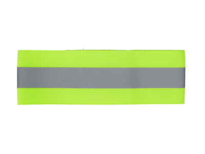 Atredo - Buksebånd med refleks - 1 refleksstribe - Gul