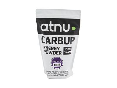 Atnu Carbup Energipulver - Vindruvor - 1000 gram